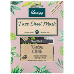 Kneipp Geschenkset Face Sheet Maskers 1 Set