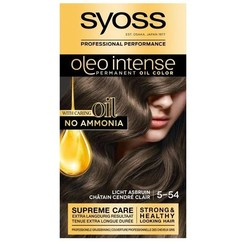 Syoss Color Oleo 5-54 Licht As Bruin 1set