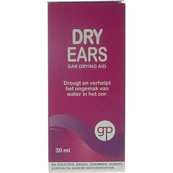 Get Plugged Dry ears 30ml