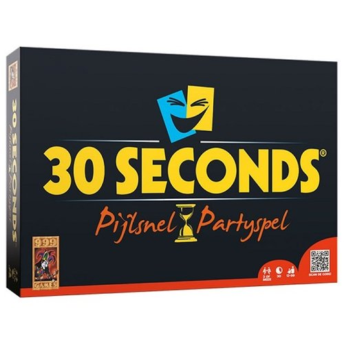 999 Games 30 Seconds Pijlsnel Partyspel