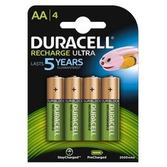 Duracell rechargeable AA HR6 (4)