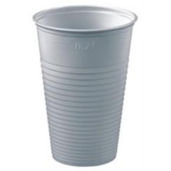 Papstar Drinkbeker - Plastic - 50 Stuks - Wit