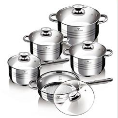 Blaumann Gourmet line 5-delig RVS Pannen Set ook inductie