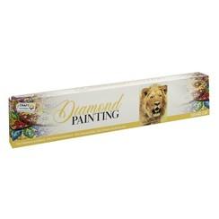 Diamond Painting Leeuw 30x40cm