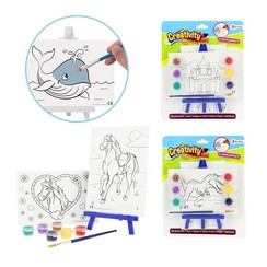 Toi Toys Canvas met schilderset