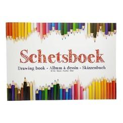 Schetsboek A4 80 vel