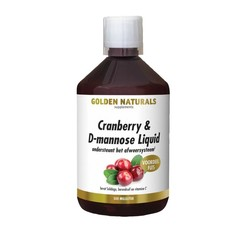 Golden Naturals Cranberry D-Mannose Liquid+ 500ml