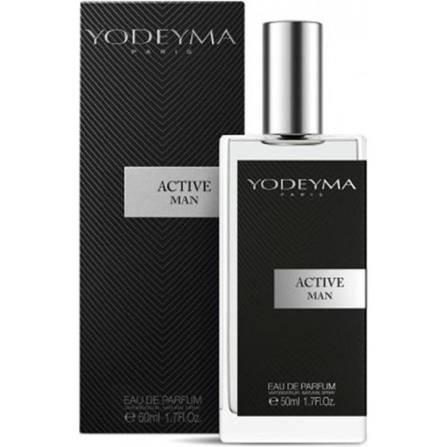 Yodeyma Parfums ACTIVE MAN Eau de Parfum 50 ml. (NIEUW)