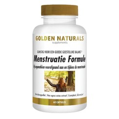 Golden Naturals Menopauze Support 60 vegetarische capsules