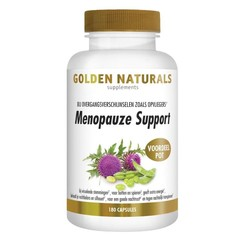 Golden Naturals Menopauze Support 180 vegetarische capsules
