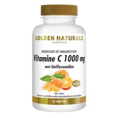 Golden Naturals Vitamine C1000 met Bioflavonoiden 60 tabletten