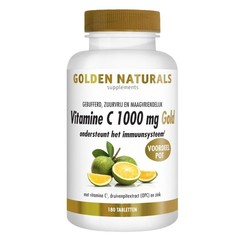 Golden Naturals Vitamine C1000 Mg Gold Vegan 180tb