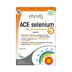 Physalis ACE Selenium + Groene Thee (45 Tabletten)