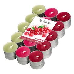 Geurtheelicht multi colour brick 30 Cranberry