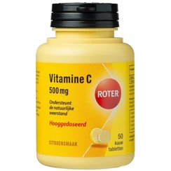 Roter Vitamine C 500mg Citroen 50 tabletten