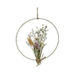 Hanger gedroogde bloemen W20-H22cm naturel