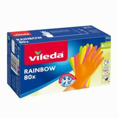 Vileda Rainbow Handschoenen 80 Stuks