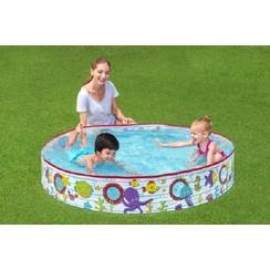 Bestway 1.52m x H25cm Fill 'N Fun snapset zwembad