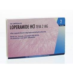 Teva Loperamide HCI 2mg 10 capsules