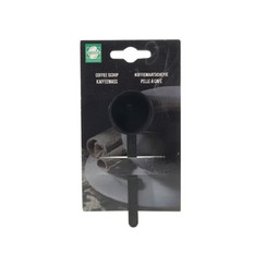 Barista Koffiemaatlepel kunststof zwart Ø3,5x11cm
