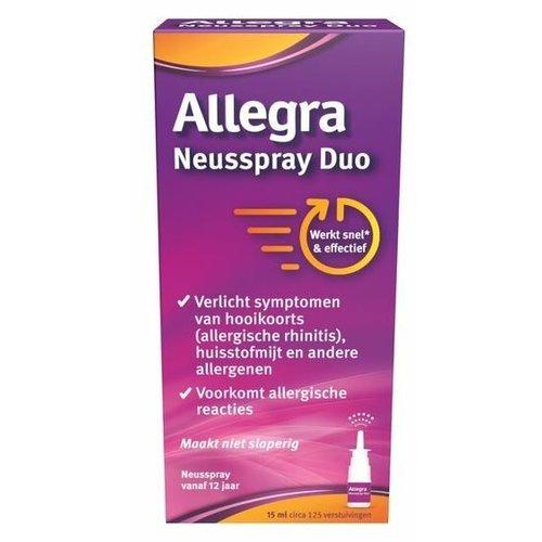 Allegra Neusspray Duo 15ml