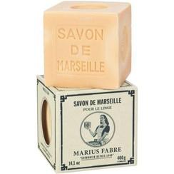 Marius Fabre Savon Marseille Zeep in Doos Blanc Zonder Palmolie 400g