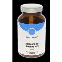 Best Choice Acidophilus Betaine HCL Capsules 60cap