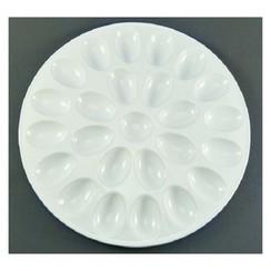 Eierschaal aardewerk voor 25 eieren 31cm
