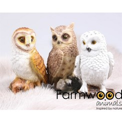 Farmwood Animals Uil 13 cm