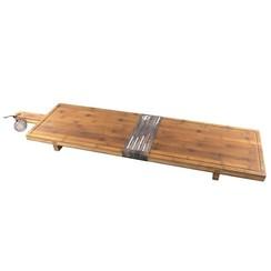 Serveerplank XXL bamboe 100x26x5,5cm