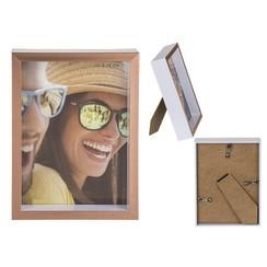 Fotolijst koper kunststof 13x18cm