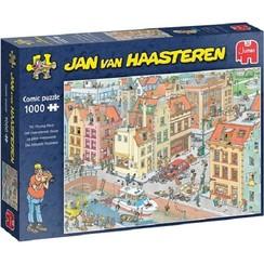 Jumbo Jan van Haasteren puzzel Het ontbrekende stukje 1000pcs