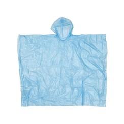 Regen poncho voor volwassenen vinyl one size fits all met capuchon. assorti kleuren