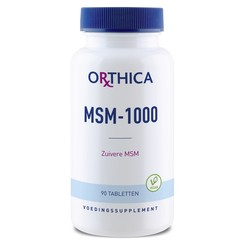 Orthica MSM-1000 90 tabletten