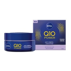 Nivea Q10 Power Anti-Rimpel + Verzachtende Nachtcrème 50ml