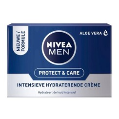 Nivea For Men Protect & Care Intensieve Hydraterende Crème 50ml