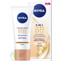 Nivea Essentials BB Cream 5-in-1 Egaliserende Medium Dagcrème 50ml