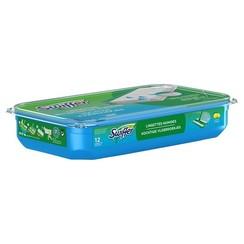 Swiffer Vloerreiniger vochtige vloerdoekjes met frisse citroengeur doos a 12 Stuks