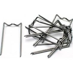Steekkrammen metaal 10x30mm zakje a 50 stuks