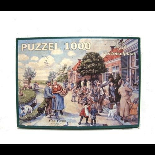 Aap noot mies puzzel vertelselplaat 1000pc