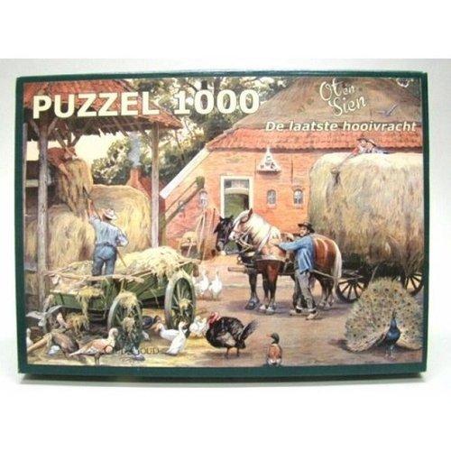 Ot en Sien puzzel De laatste hooivracht 1000pc