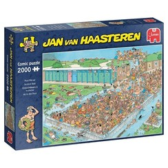 Jumbo Jan van Haasteren puzzel Bomvol bad 2000 stukjes