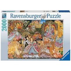 Ravensburger Puzzel Cinderella 2000 stukjes