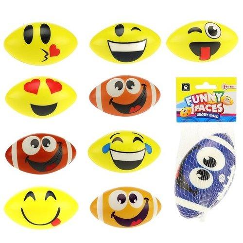 Toi Toys Emoticon rugby bal