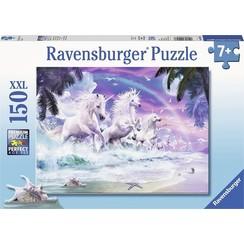 Ravensburger puzzel Eenhoorns aan het strand 150pcs XXL