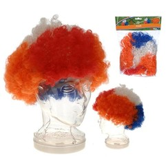 Feestpruik Holland Rood Wit Blauw oranje