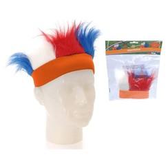 Haarband Holland Rood Wit Blauw oranje