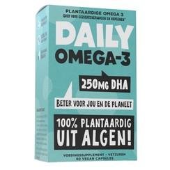 Daily Omega-3 250mg DHA Vegan 60vc
