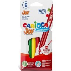 Carioca Joy viltstiften 6 stuks in kartonnen etui