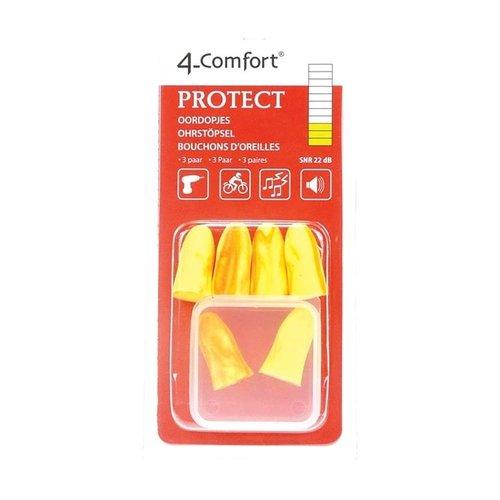 4-Comfort Oordopjes Protect